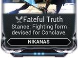 Fateful Truth