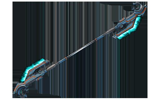 Diseño Aphria de arma de asta