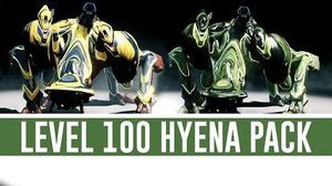 Hyena Pack 'Level 100' (Warframe)