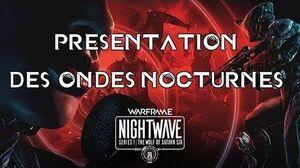 Nouveauté Warframe Les ondes nocturnes - Saturne Six