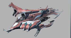 Railjack Skin 3