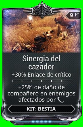 Sinergia del cazador