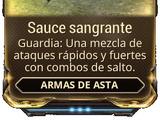 Sauce sangrante