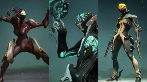 Warframe - All Idle Animation Sets (Part 3 - Hydroid, Limbo, Mesa, Mirage, Zephyr)