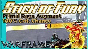 Wukong PRIMAL RAGE - Primal Fury Augment Warframe