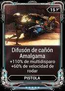 Difusión de cañón Amalgama