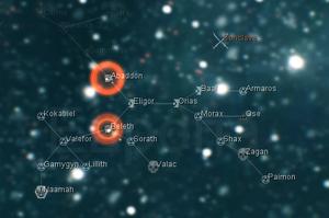 Обозначение миссий Вторжения на карте