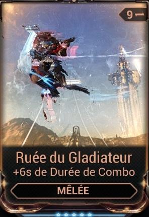 Ruée du Gladiateur