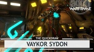 Warframe Vaykor Sydon, Only One Way to Work a Pole? - 4 Forma thequickdraw