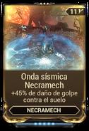 Onda sísmica Necramech