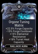 Orgone Tuning Matrix