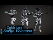QUICK LOOK Tennogen Saryn Velenosa - Warframe
