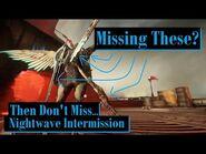 Nightwave Intermission Goodies - Warframe