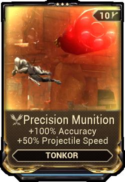 Precision Munition