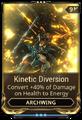 Kinetic Diversion