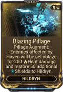 Blazing Pillage
