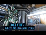 Surprise Loki Verv Skin - Warframe