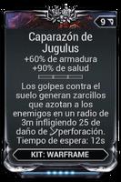 Caparazón de Jugulus