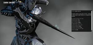 Dark sword redesign