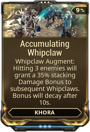 Accumulating Whipclaw