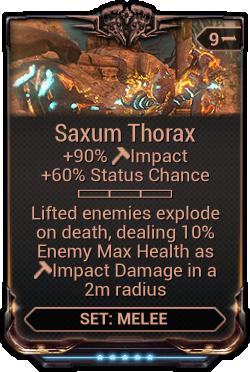 Saxum Thorax