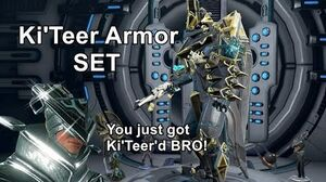 FULL Ki'Teer Cosmetic Set (Armor Sigils!)