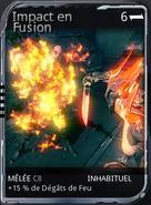 Impact en Fusion