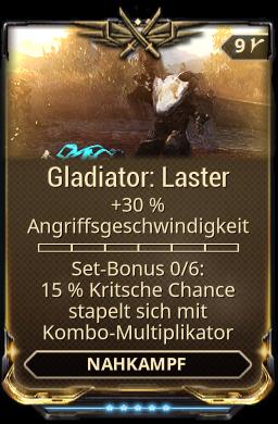 Gladiator: Laster