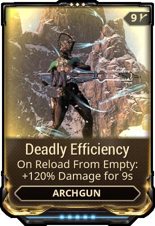 Deadly Efficiency