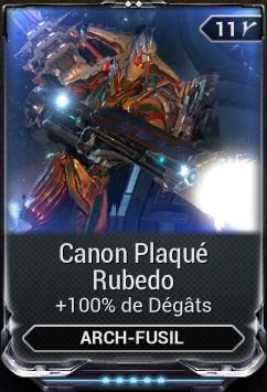 Canon Plaqué Rubedo