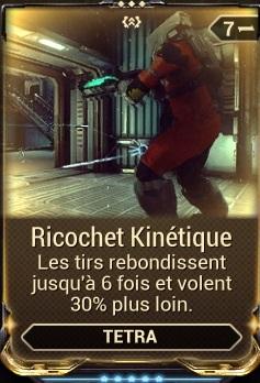 Ricochet Kinétique