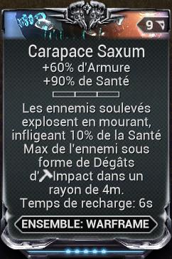 Carapace Saxum