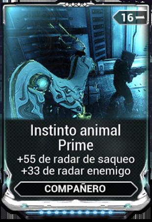Instinto animal Prime