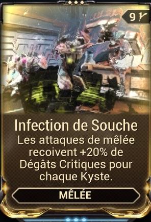 Infection de Souche