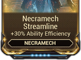 Necramech Streamline
