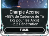 Charpie Accrue