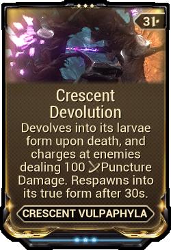 Crescent Devolution