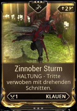 Zinnober Sturm
