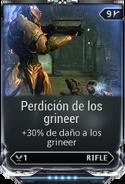 Perdición de los grineer