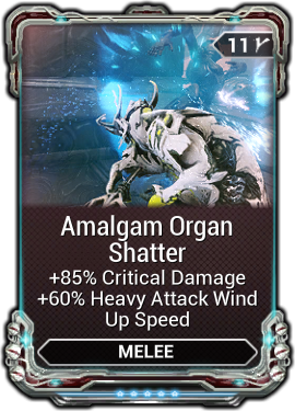 Amalgam Organ Shatter
