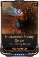Necramech Enemy Sense