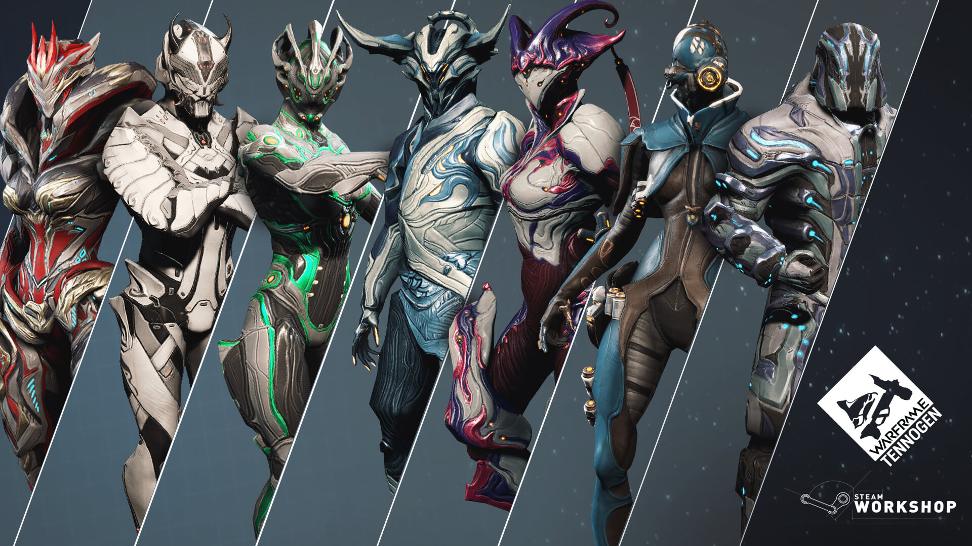 Warframe Nova Tennogen : Even though i have the visage and graxx skins for nova already lol.