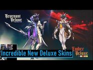 New Ember and Revenant Deluxe Skins - Warframe
