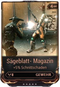 Sägeblatt Magazin