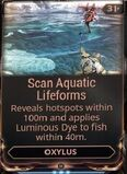 Scan Aquatic Lifeforms