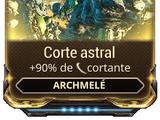 Corte astral