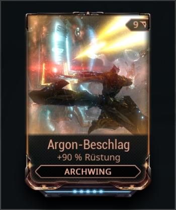 Argon-Beschlag