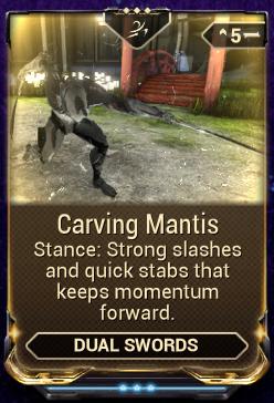 Carving Mantis