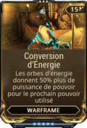Conversion d'Énergie