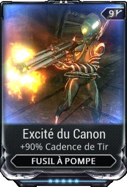 Excité du Canon
